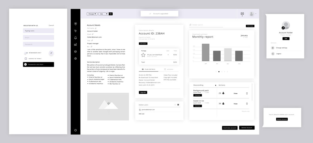 Sample UI for the UI Design Process mini-class